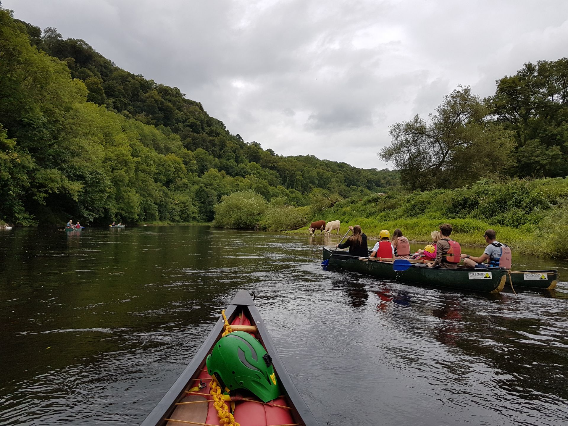 Rounding the bend at Yat Rock