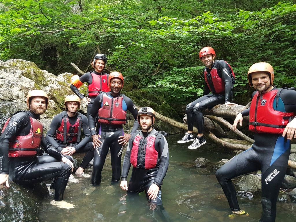 Gorge group at timotei