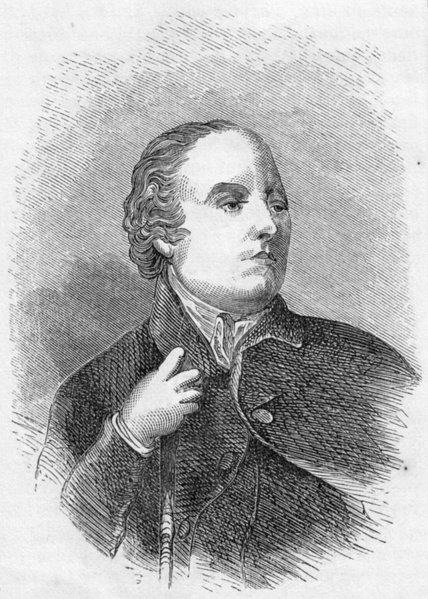 Rev. William Gilpin Harpers Engraving