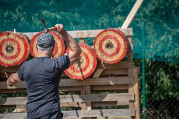 Axe Throwing and Archery Day