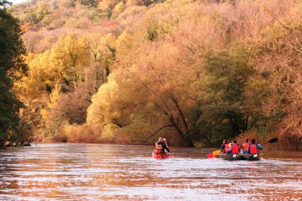 Autumn Colours Guided Canoe Trip