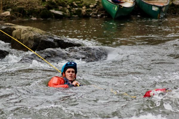 White Water Safety and Rescue Course