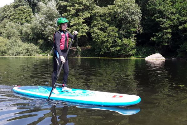 Stand-up Paddleboard and Gorge Scrambling Day
