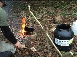 Time for a brew bushcraft style