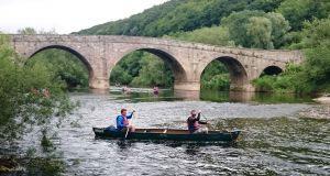 Kerne Bridge on the river Wye