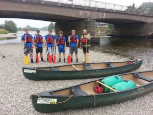 Ready to leave at Glasbury