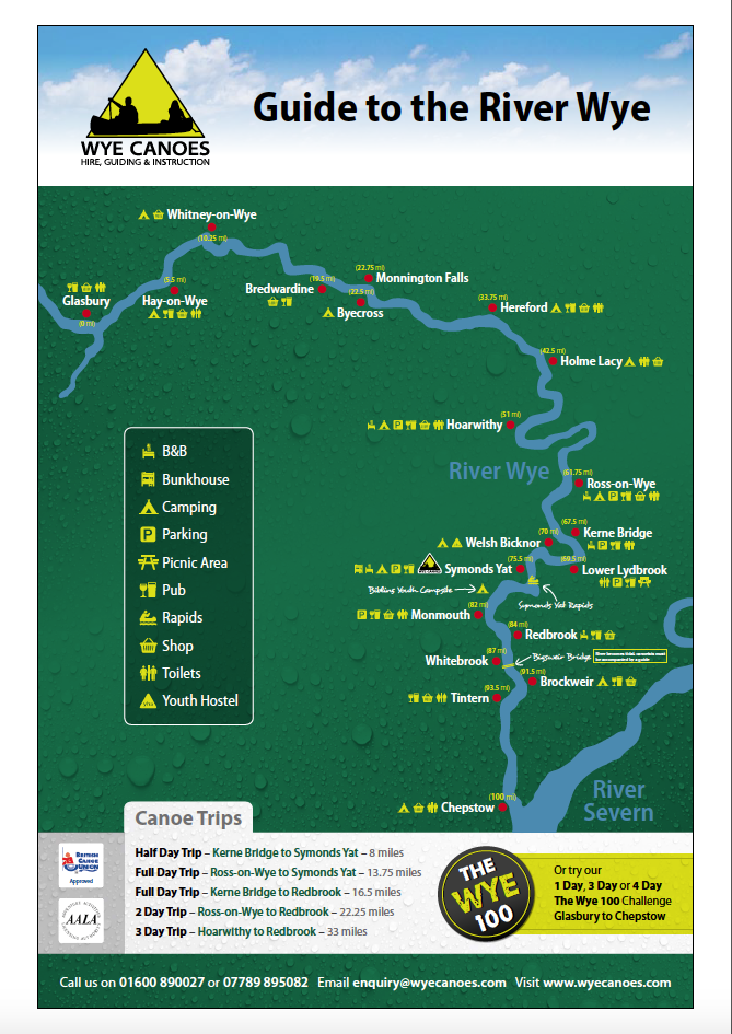 Guide to the River Wye