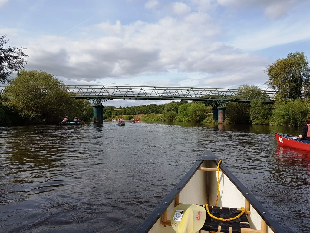 Approaching Huntsham bridge before Symonds Yat